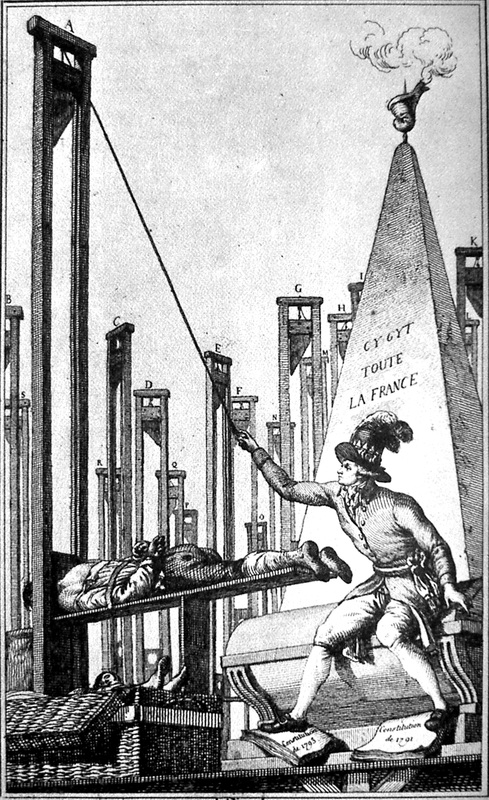 the invention of the guillotine