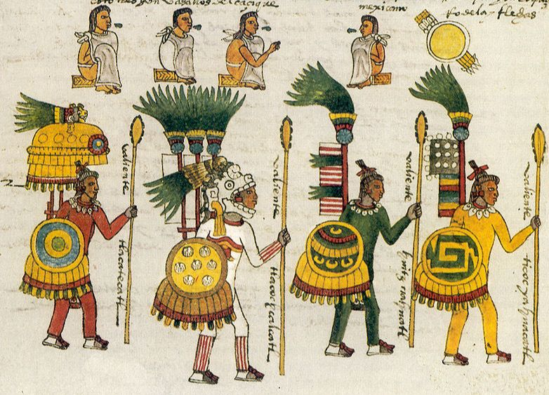 Aztec Warriors History Crunch History Articles Summaries Biographies Resources And More