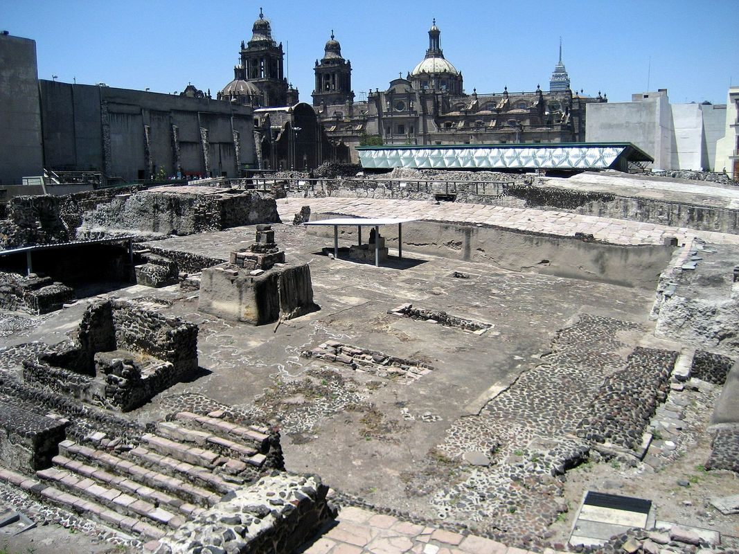 My Conversation with Tenochtitlan: Back in time to the ...  |Tenochtitlan Ruins