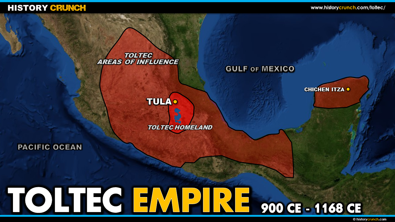 Map of the Toltec Empire